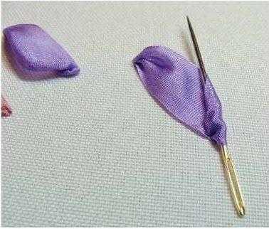 игла для вышивания лентами