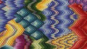 флорентийская техника вышивка барджелло чешуя
