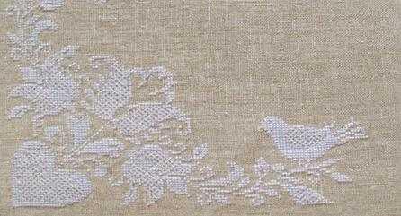 лен для вышивания