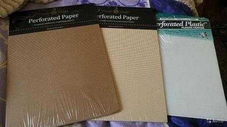 бумага для вышивки
