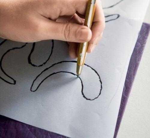 перенос схемы вышивки