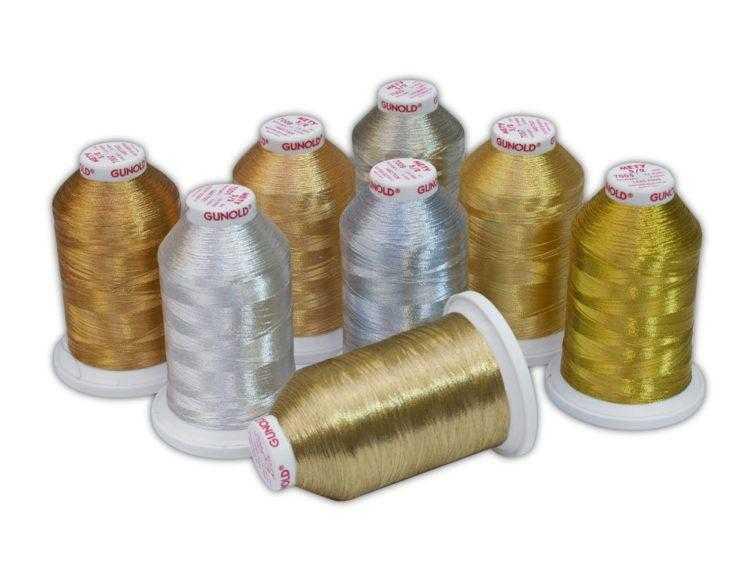 металлизированная нить для вышивания