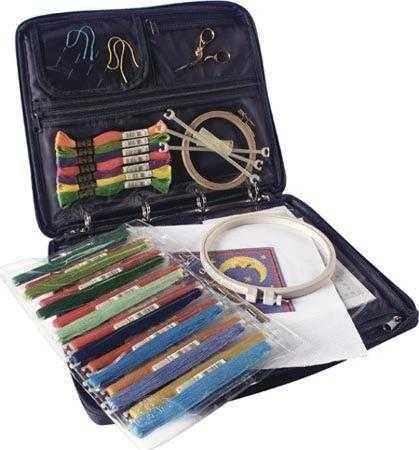 органайзер и инструменты для вышивки