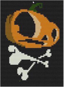 схемы бисером на Хеллоуин
