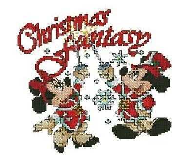 вышивка рождественская фантазия