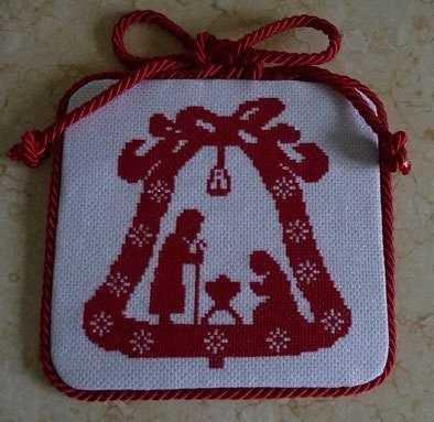 вышивка крестом рождество