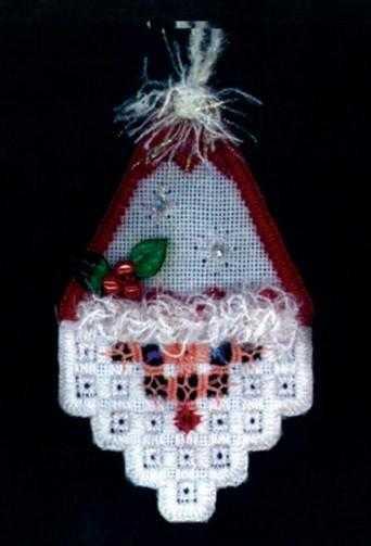 Новогодние и Рождественские схемы вышивки хардангер