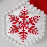 Новогодние схемы для вышивания крестиком.