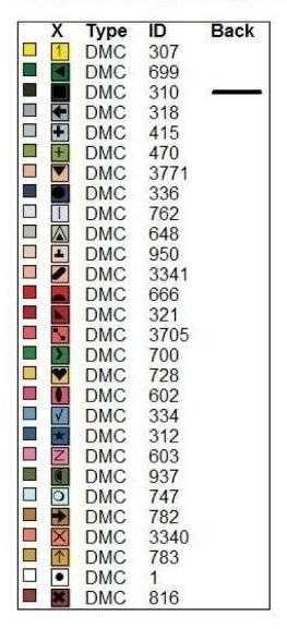 цветовая гамма к схеме