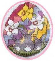пасхальное яйцо крестиком