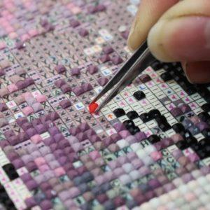 алмазная вышивка по схеме