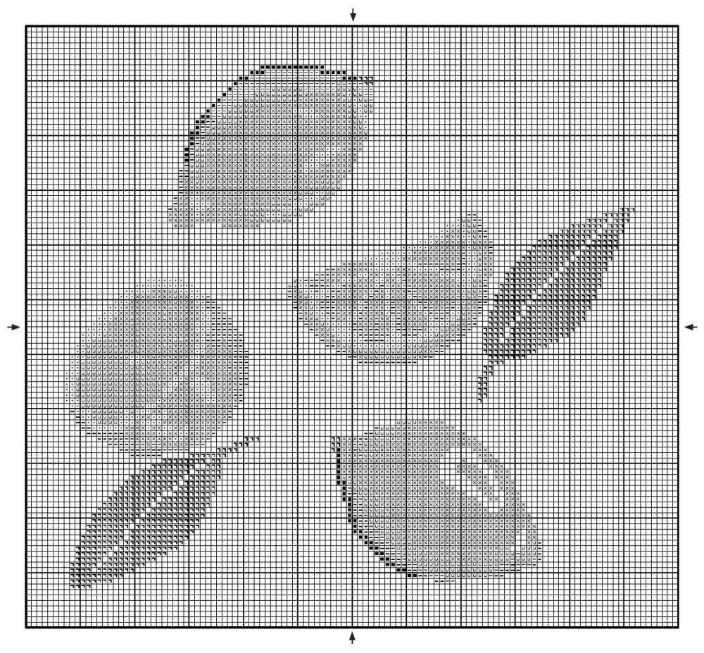 схемы крестиком лимоны