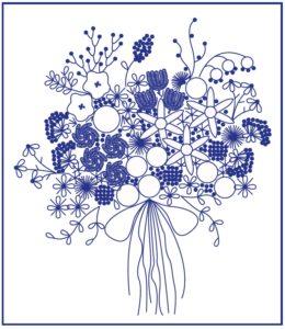 рисунок для бразильской вышивки